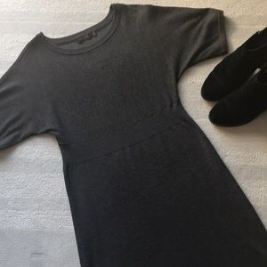 The Limited | gray bell sleeved sweater dress